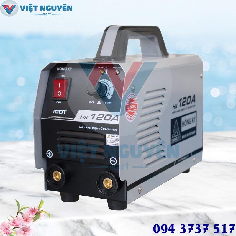 Đại lý máy hàn điện tử Hồng Ký HK 120A chính hãng giá tốt