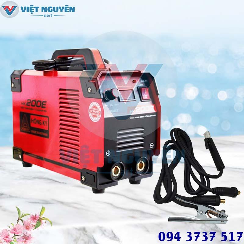 máy hàn que điện tử INVERTER Hồng Ký HK 200E