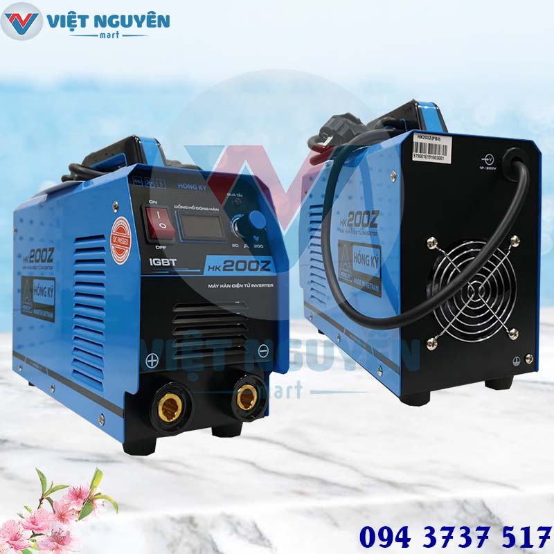 Đại lý máy hàn điện tử HK 200Z giá rẻ tại TP. Hồ Chí Minh