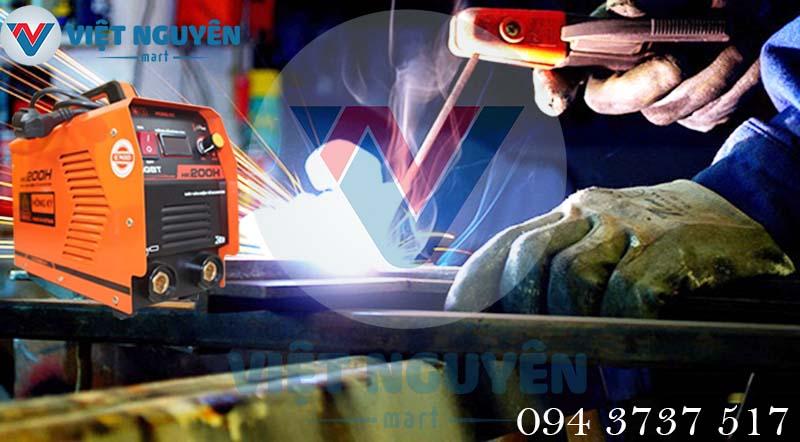 Ứng dụng máy hàn que điện tử đa năng Hồng Ký HK 200H