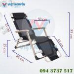 Thông số kỹ thuật ghế giường xếp thư giãn Nika VN-138