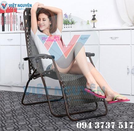 ghế xếp thư giãn cao cấp đa năng NIKA VN-137 thiết kế hiện đại