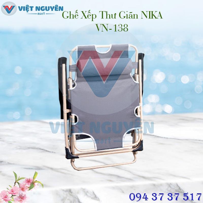 Xếp gọn ghế giường thư giãn đa năng Nika VN-138 linh động