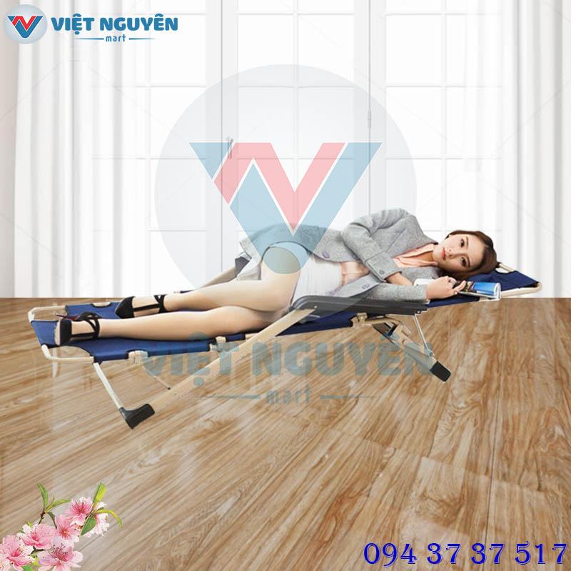Ghế xếp giường gấp đa năng VN-138 đem đến ứng dụng thoải mái