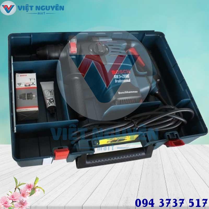 Đại lý máy khoan bê tông điện - khoan búa Bosch GBH 3-28DRE vặn vít chính hãng giá tốt