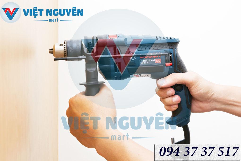 Quyền lợi khách hàng máy khoan động lực điện Bosch GSB 750W 16RE Set Vali phụ kiện chính hãng