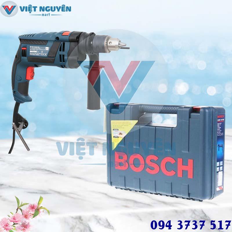 Máy Khoan Động Lực Điện Bosch GSB 16RE Set (Vali full Phụ Kiện)