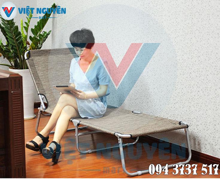 Ưu điểm ghế giường xếp gấp gọn đa năng văn phòng Nika VN-TT04 cao cấp