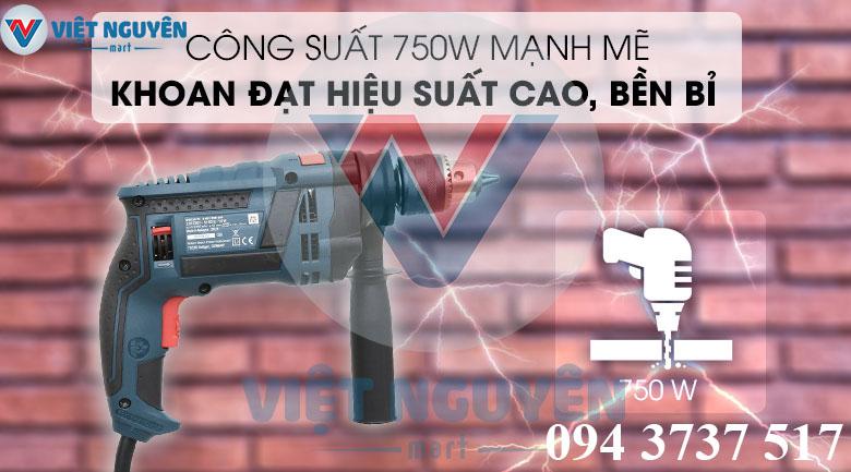 Ứng dụng máy khoan động lực điện Bosch GSB 16RE Set (vali full phụ kiện) cao cấp