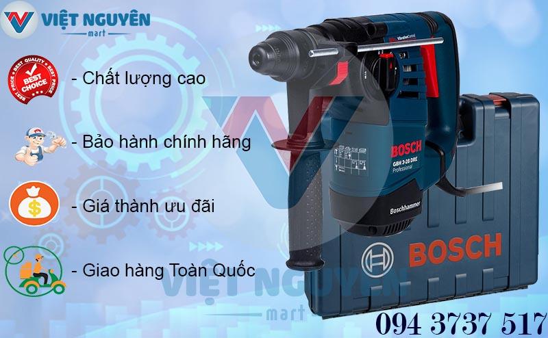 Chính sách bán máy khoan búa bê tông điện Bosch GBH 3-28DRE Professional chính hãng