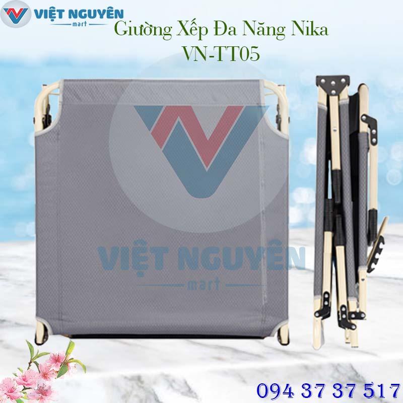 Ứng dụng giường gấp xếp gọn văn phòng cao cấp Nika VN-TT05