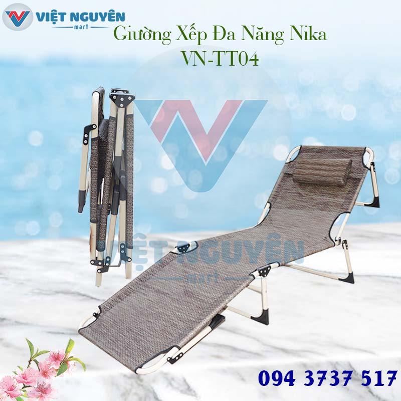 Đại lý giường ghế xếp văn phòng đa năng Nika VN-TT04 chính hãng tại các tỉnh thành - giao hàng Toàn Quốc