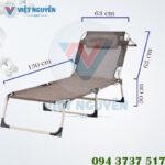 Kích thước giường – ghế ngồi thư giãn Nika VN-TT04
