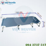 Kích thước sử dụng giường gấp xếp thư giãn văn phòng Nika VN-TT05