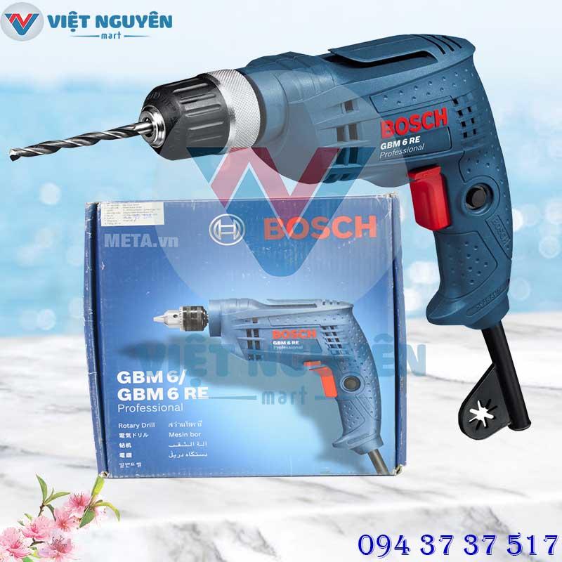 Đại lý phân phối máy khoan Bosch GBM 6 RE Professional khoan điện - vặn vít giá tốt - hỗ trợ giao hàng Toàn Quốc