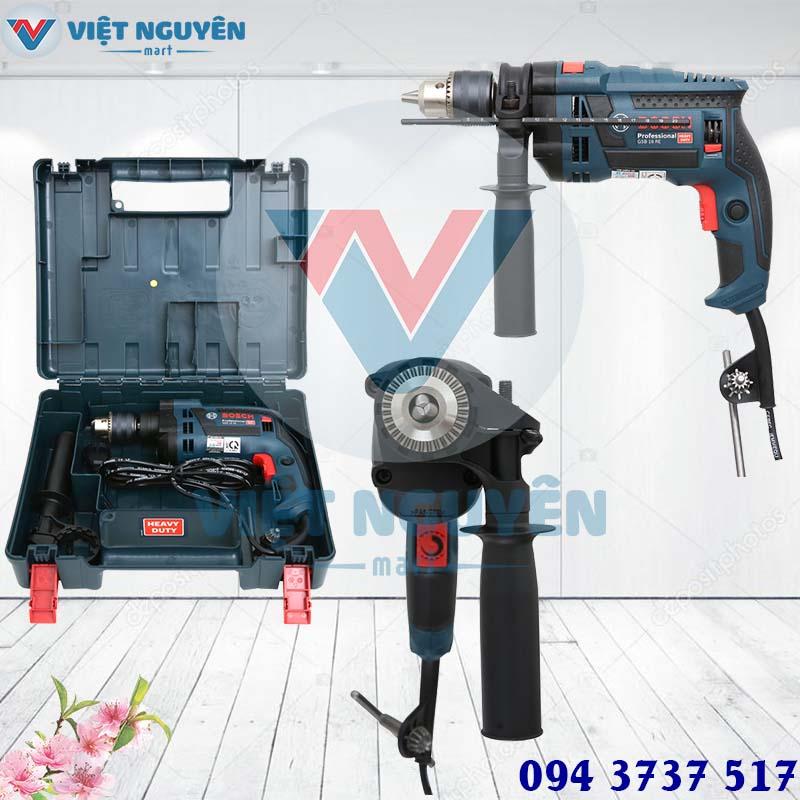 Đại lý máy khoan động lực Bosch GSB 16RE Set full phụ kiện giá tốt tại Thành Phố Hồ Chí Minh