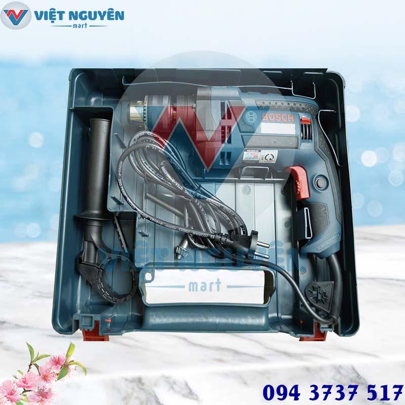 Đại lý máy khoan động lực điện Bosch GSB 16RE Set (vali) chính hãng giá rẻ
