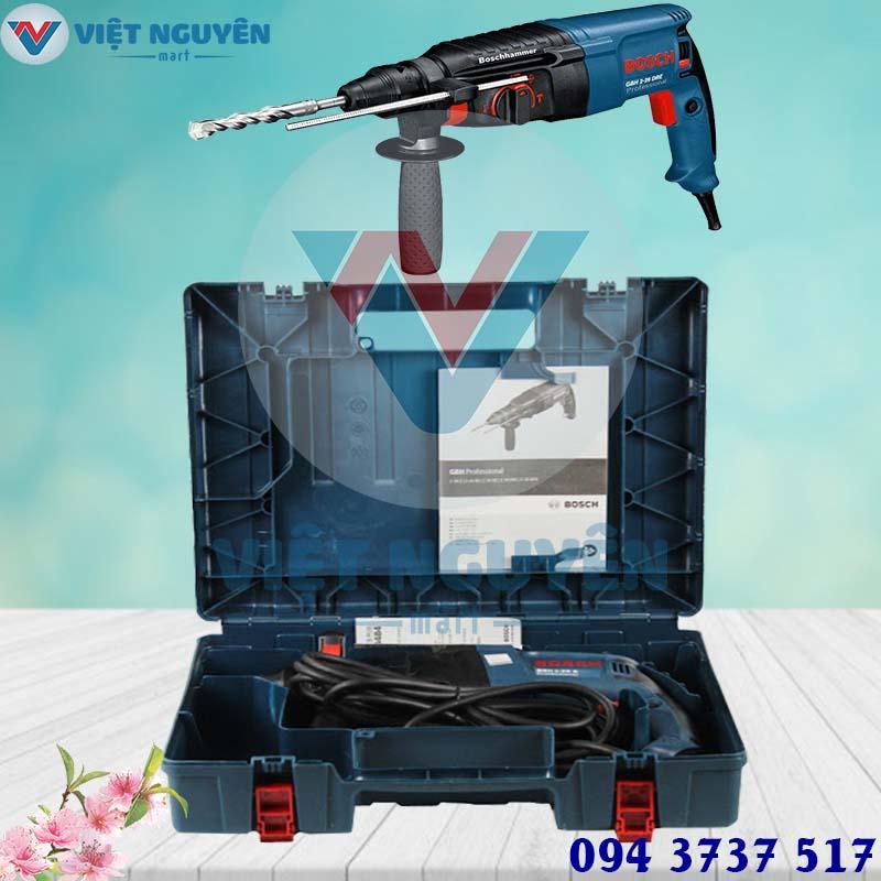 Đại lý máy khoan búa bê tông điện Bosch GBH 2-26DRE chính hãng giá tốt
