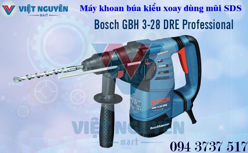 Máy Khoan Búa Bê Tông Điện Bosch GBH 3-28DRE Professional