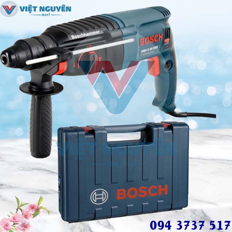 Lợi thế máy khoan bê tông búa Bosch GBH 2-26DRE mũi SDS khoan xoay thần tốc