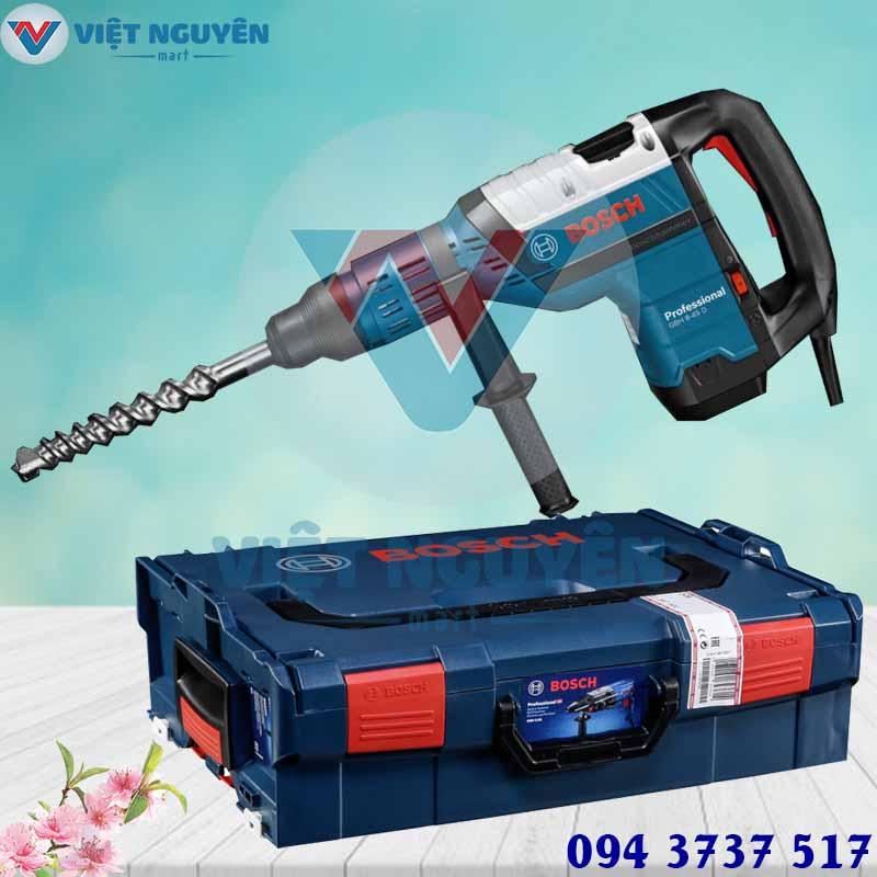 Đại lý máy khoan bê tông búa điện Bosch GBH 8-45D chính hãng giá tốt