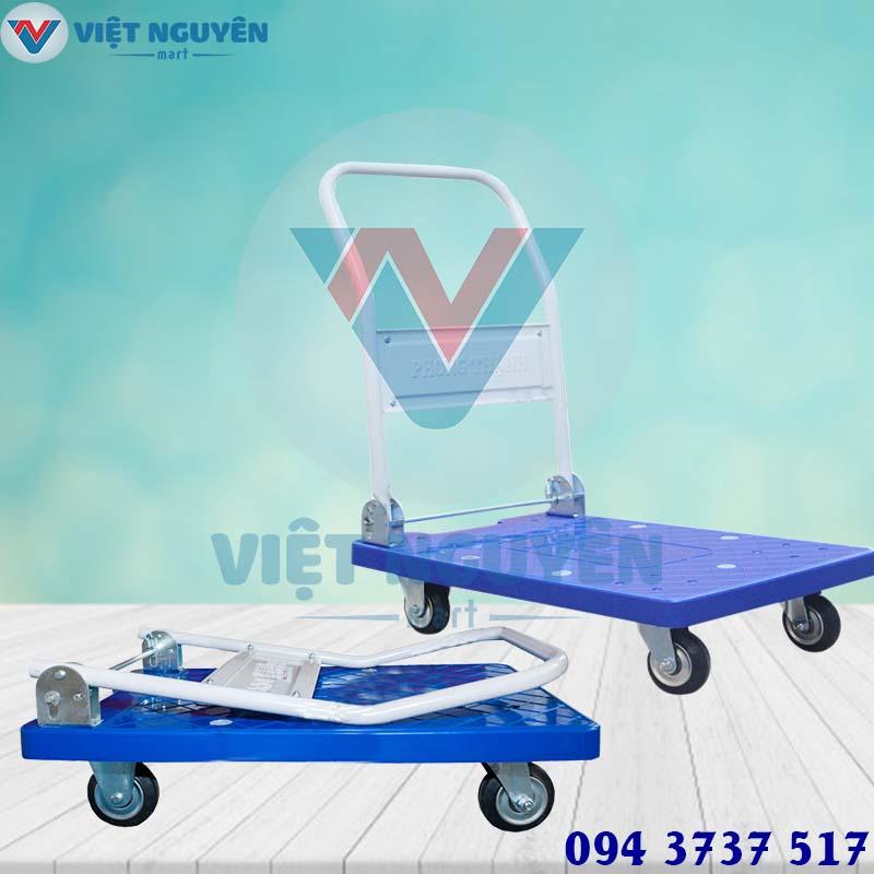 Ứng dụng xe đẩy hàng 4 bánh 200Kg XTB 100DN Phong Thạnh
