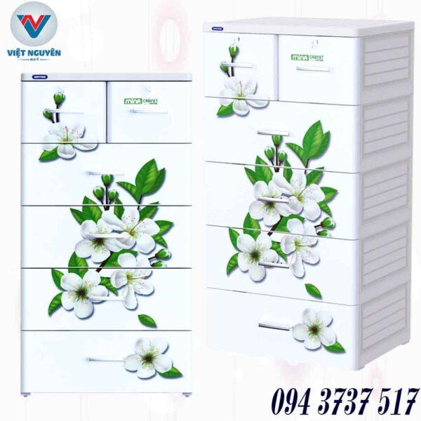 Ưu điểm - ứng dụng tủ nhựa Duy Tân Mina 5N 5 tầng 6 ngăn chứa đồ