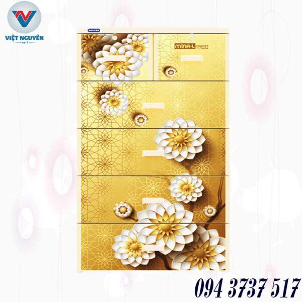 Ưu điểm - ứng dụng tủ nhựa Duy Tân Mina L 5N 5 tầng 6 ngăn chứa đồ