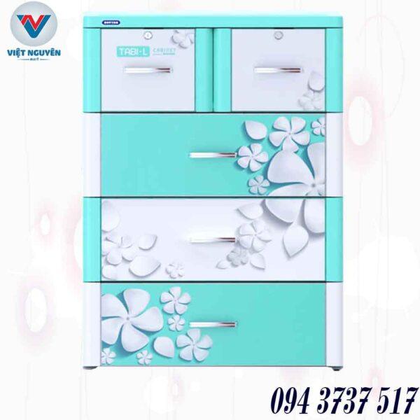 Đại lý tủ nhựa Tabi L 4N ( 4 tầng 5 ngăn) giá tốt giao nhanh tại Thành Phố Hồ Chí Minh