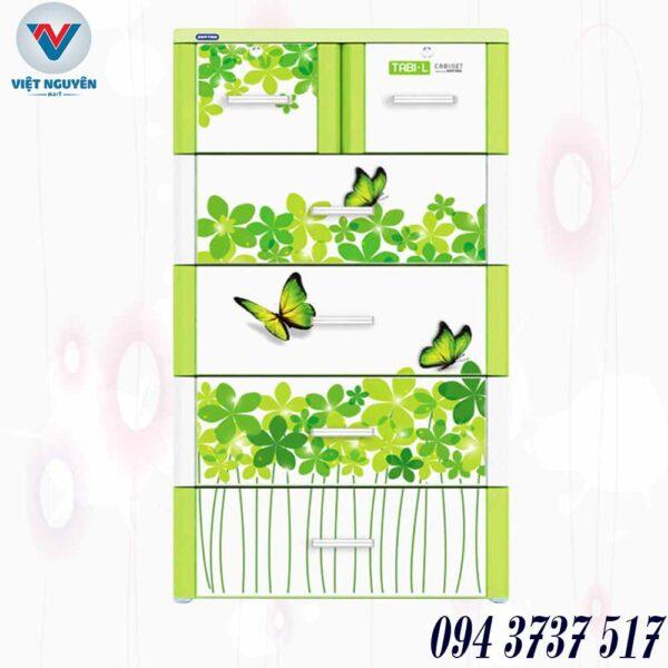 Đại lý tủ nhựa Tabi L 5N ( 5 tầng 6 ngăn) giá tốt giao nhanh tại Thành Phố Hồ Chí Minh