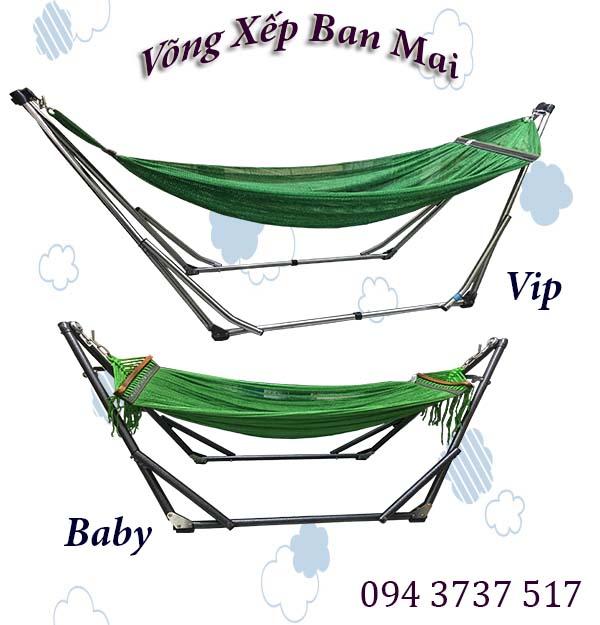 Võng Xếp Ban Mai giá rẻ